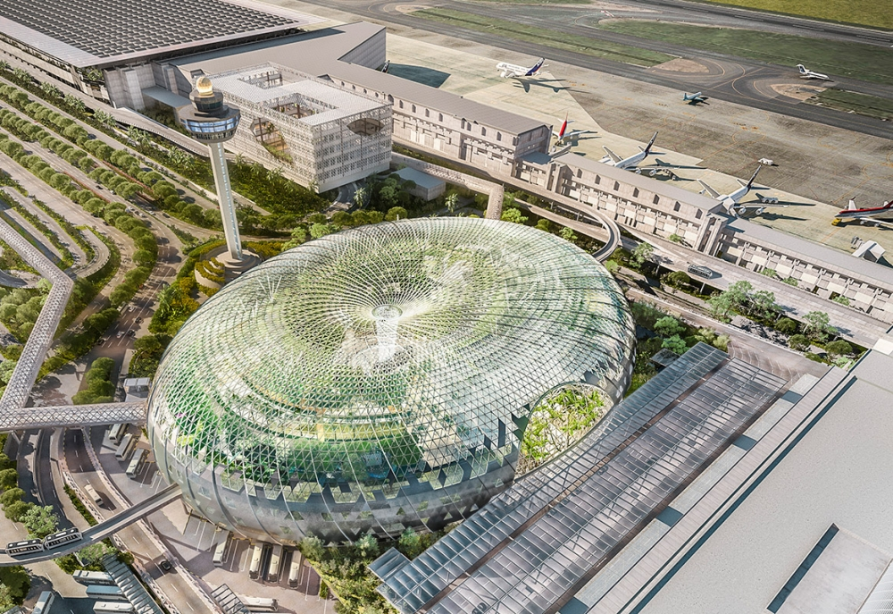 Photos : World's most awesome airport is about to get more awesome