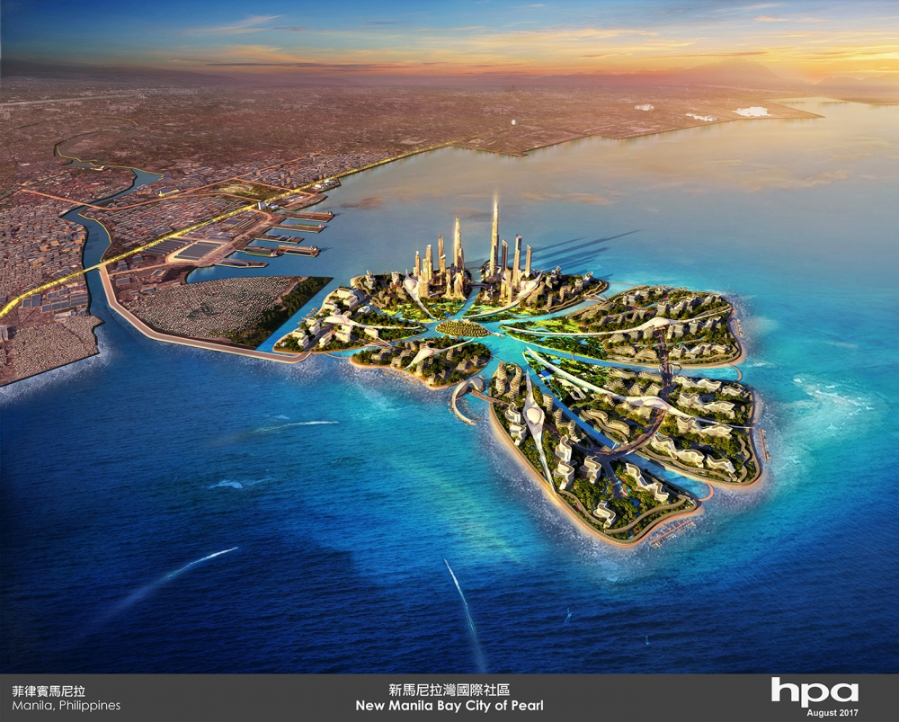 The New Manila Bay, World's Biggest 'Smart City' To Rise in Philippines