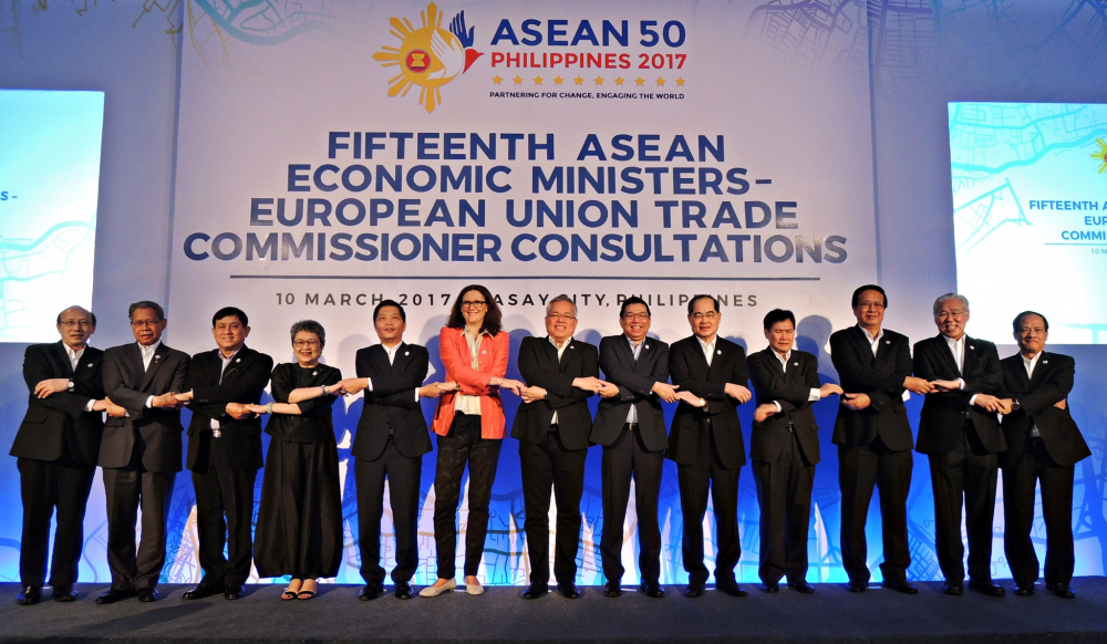 ASEAN, EU Agree to Resume Free Trade Talks