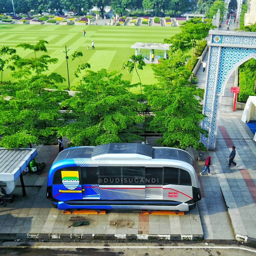 The Prototype of Bandung's Future Transit Unveiled