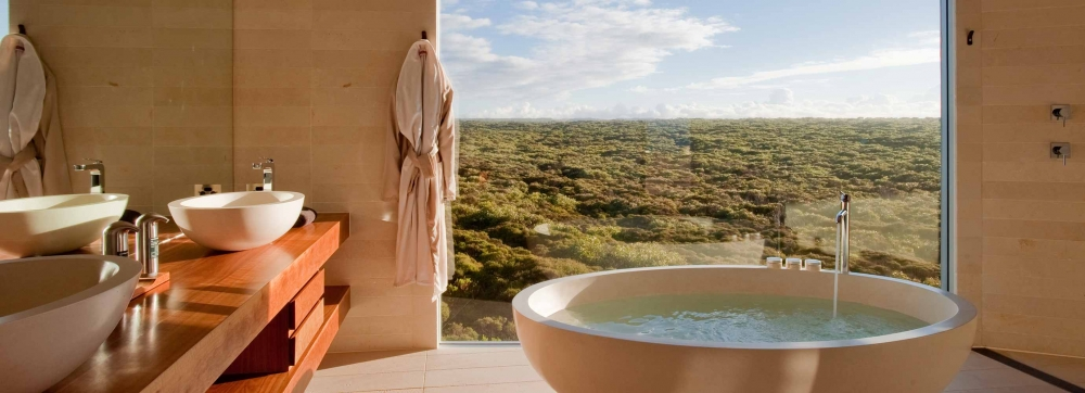 Hotel Baths with Beautiful Views and There's One In ...