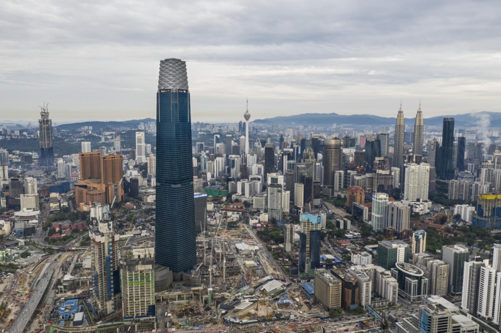 Southeast Asia's Tallest Skyscraper to Open Its Doors