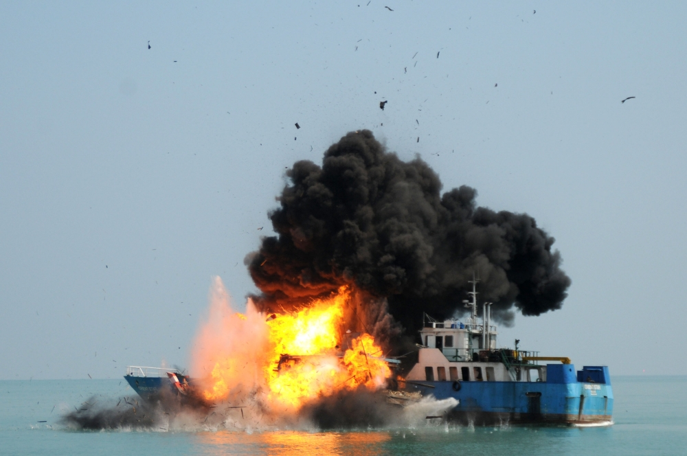Meet Indonesia's New Weapon to Crackdown Illegal Fishing