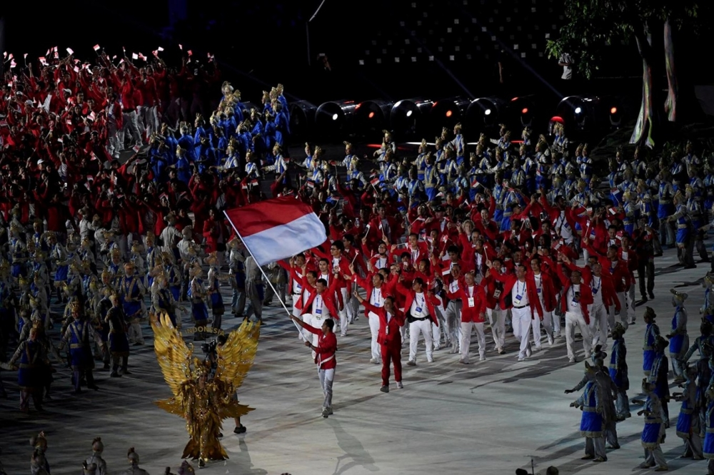 Indonesia Breaks Southeast Asia's Record in Winning Asian Games Golds