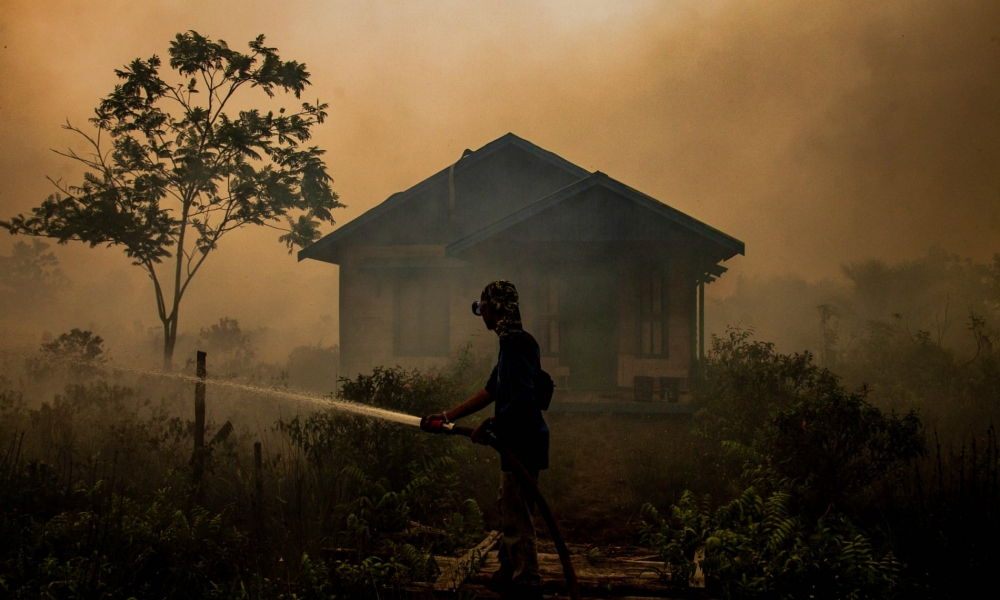 What will happen to Indonesia with Fires during Pandemic?