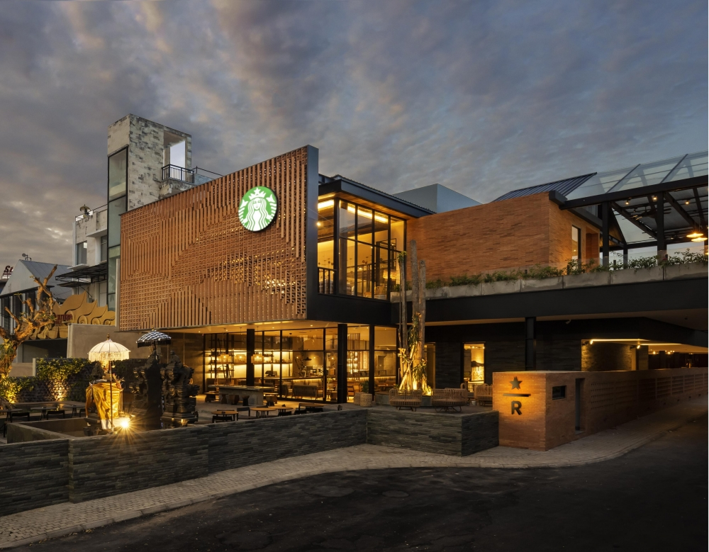 The Largest Starbucks in Southeast Asia Opens with A Life-Sized Coffee Farm and Greenhouse