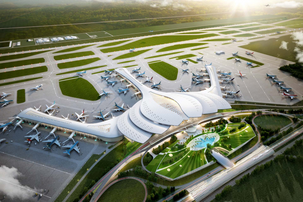 Vietnam Starts Building its Largest Airport