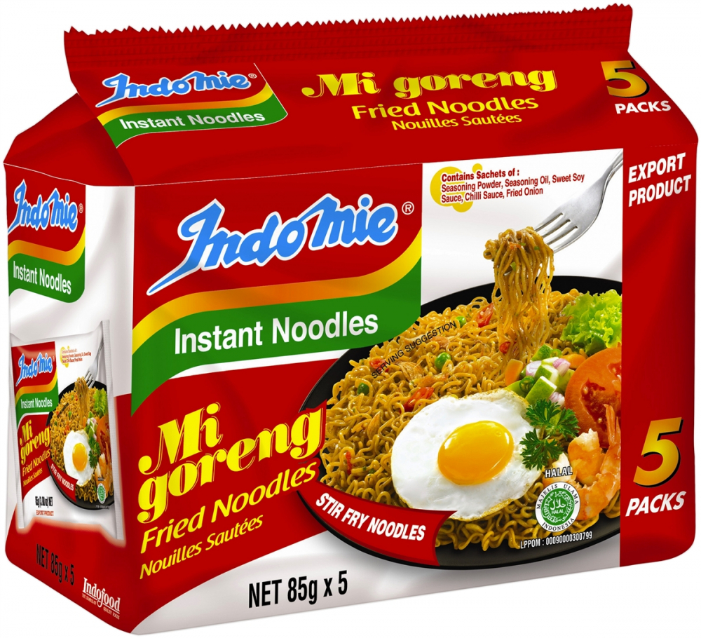 Indonesian Noodle Brand Number 1 in Africa
