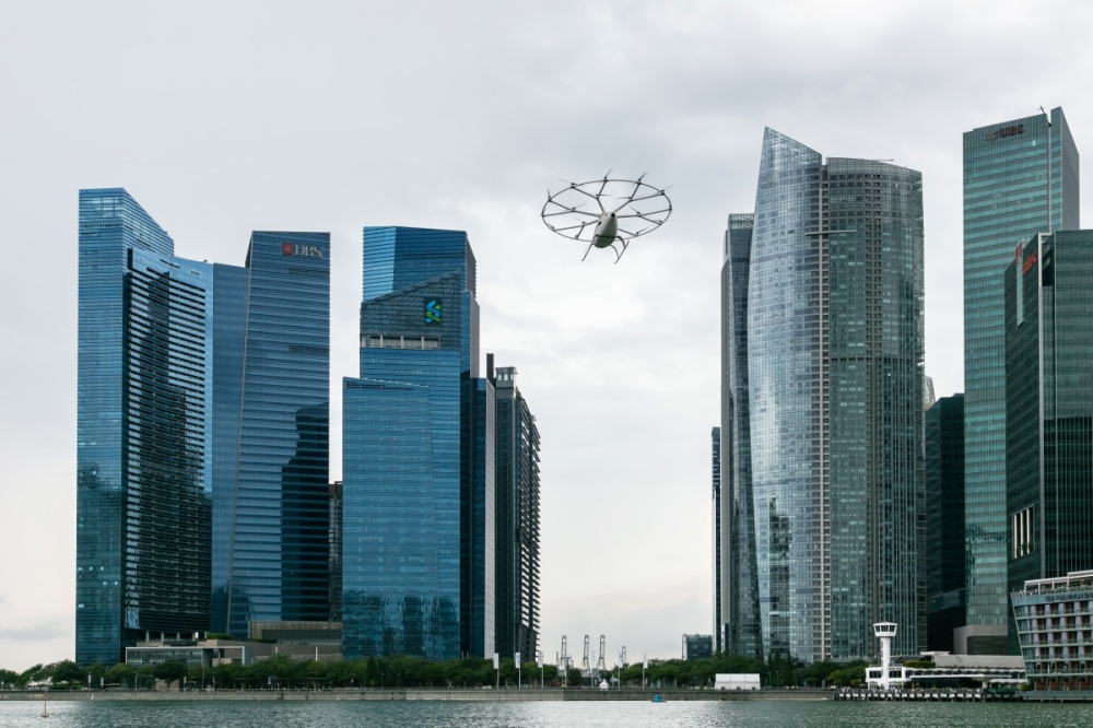 Volocopter and Grab Team Up to Test Air Taxi in Southeast Asia