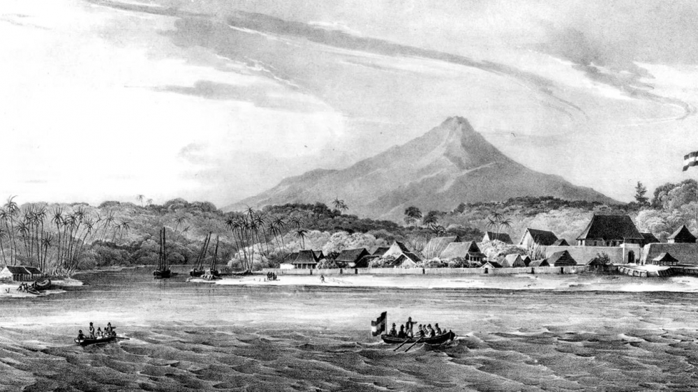 How this tiny Indonesian island changed  world history?