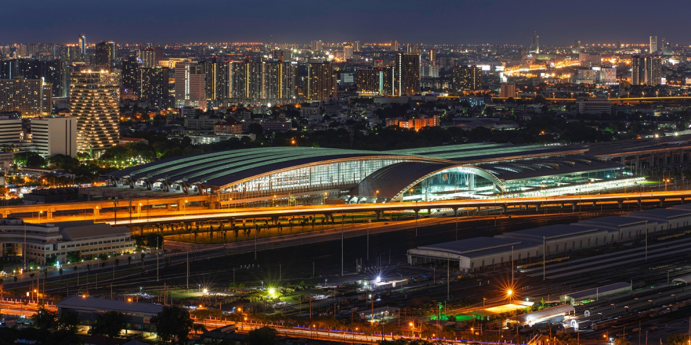 Meet Southeast Asia's Largest Railway Station