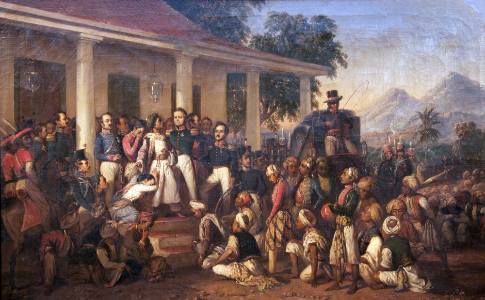 Behind the Story of Indonesia's Struggle for Independence Artwork