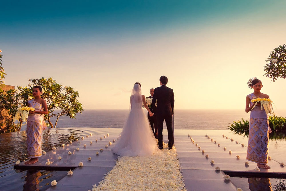 Why many couples are saying 'I do' to getting married in Bali?