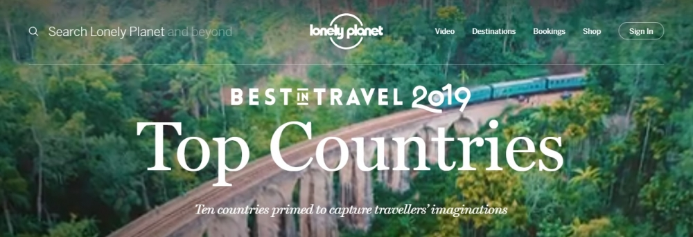 Indonesia in Top 10 Countries to Visit List in 2019 !