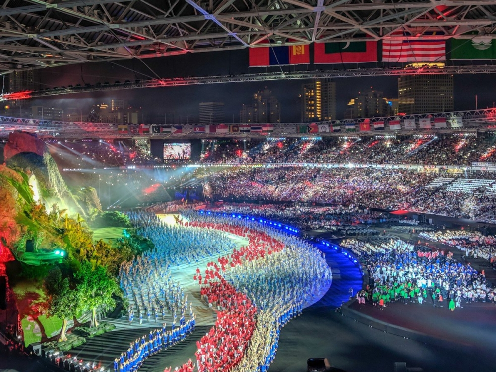 Asian Games 2018 Opening Ceremony in Cronological Photos: Absolutely Stunning