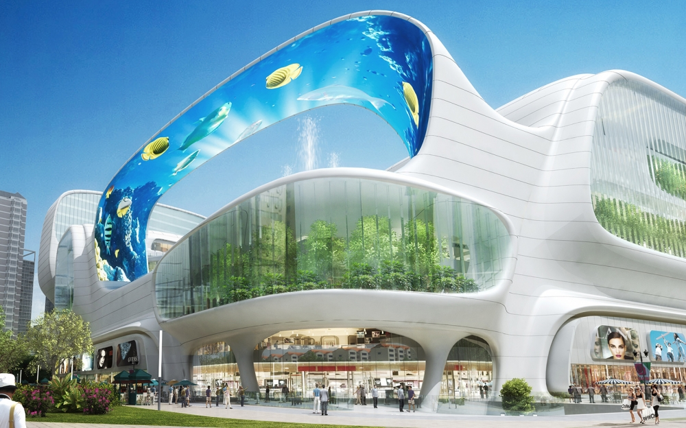 World's Most Astonishing Urban Design New Malls
