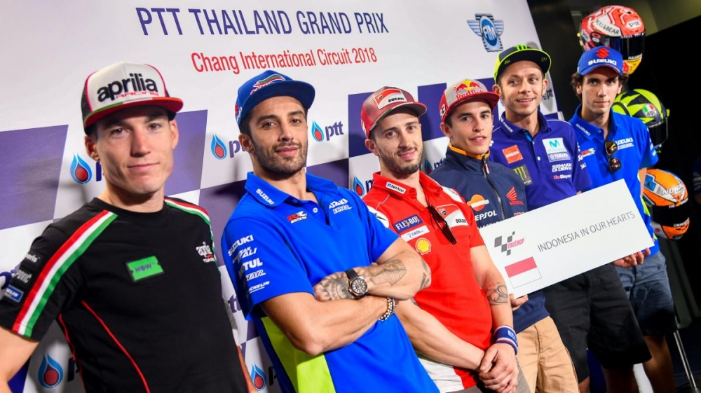 """Indonesia In Our Hearts"" - MotoGP World Riders"