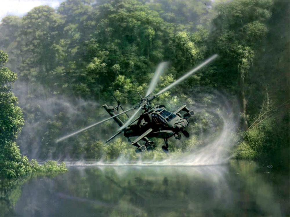 Photos Emerge of Indonesia's First AH-64E Apache Guardian