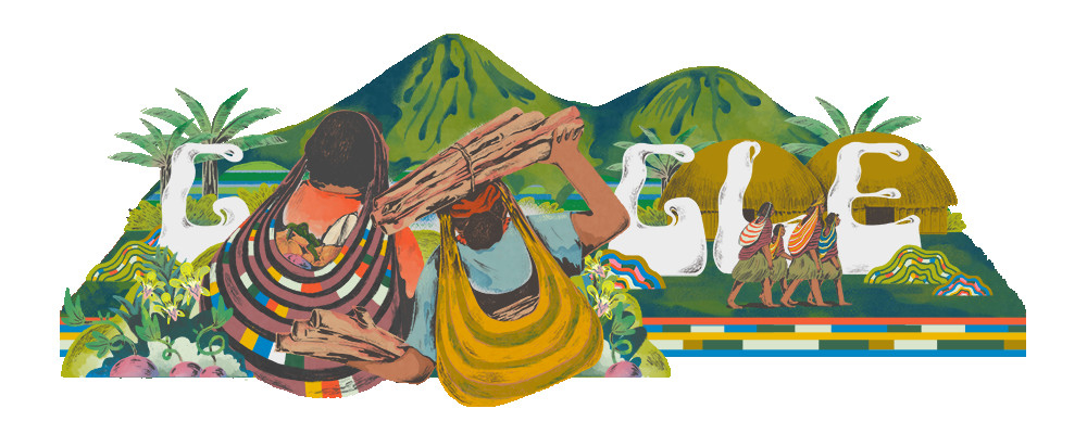 Papua's Noken Becomes Google Doodle Today