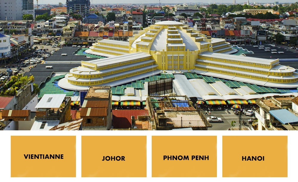 Can you answer correctly at least 7 of these 10 Southeast Asian cities?