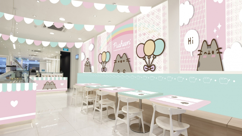 World's First Pusheen Cafe Opening In Southeast Asia Real Soon
