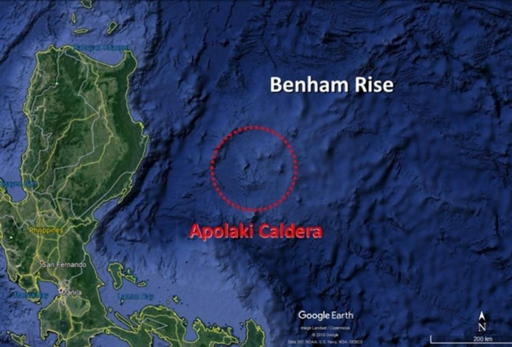 The World's Largest Caldera Discovered In The Philippine Sea