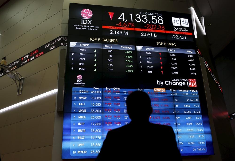 Jakarta, Manila Lead in Emerging Asian Stocks