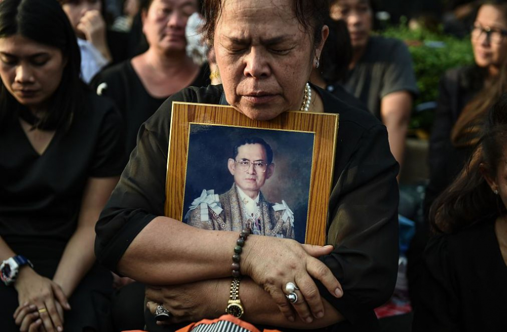 King Bhumibol's Royal Cremation To Run For Five Days