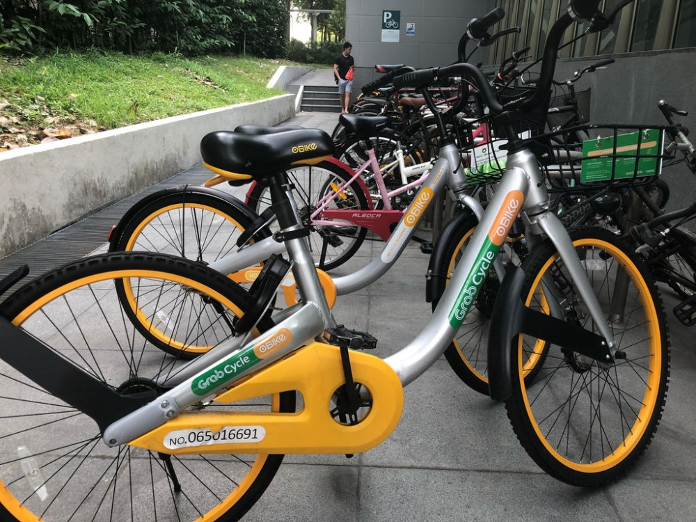 Finally, Grab Launches Its Bike-Sharing Service!