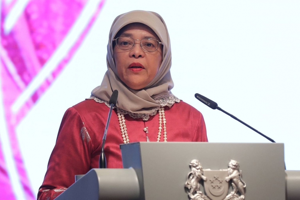 Singapore President Halimah Makes First State Visit to Indonesia