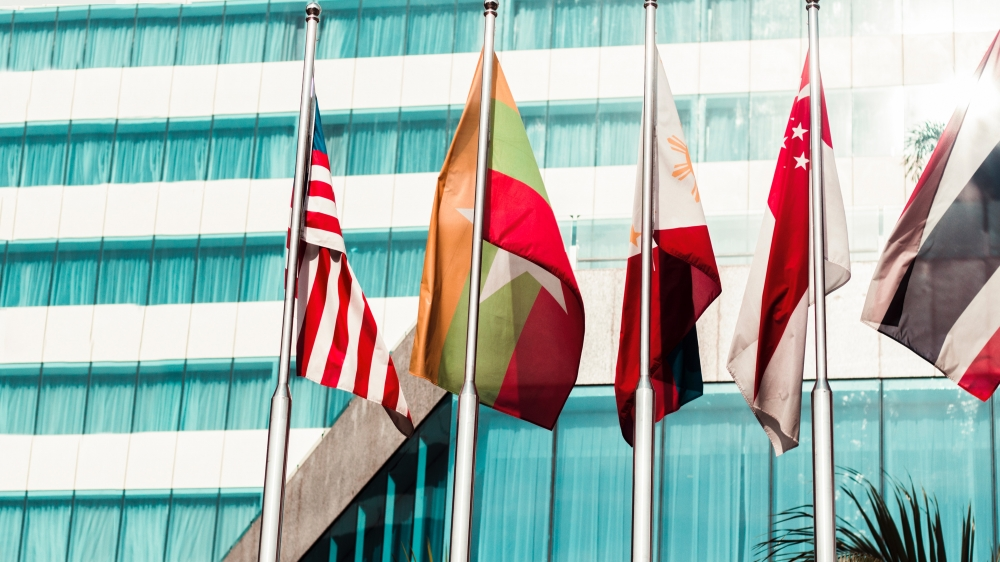 Flags of Five Countries In The World Feature A Building. One of Them is Southeast Asia's.