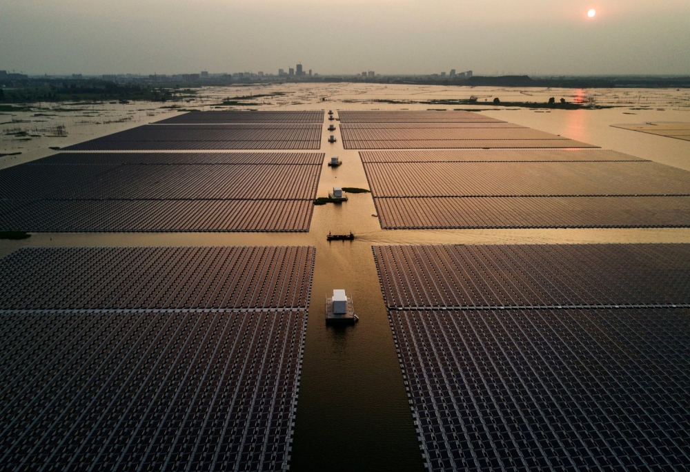 One of the World's First, Largest Sea Water Floating Solar Systems in Southeast Asia. Soon.