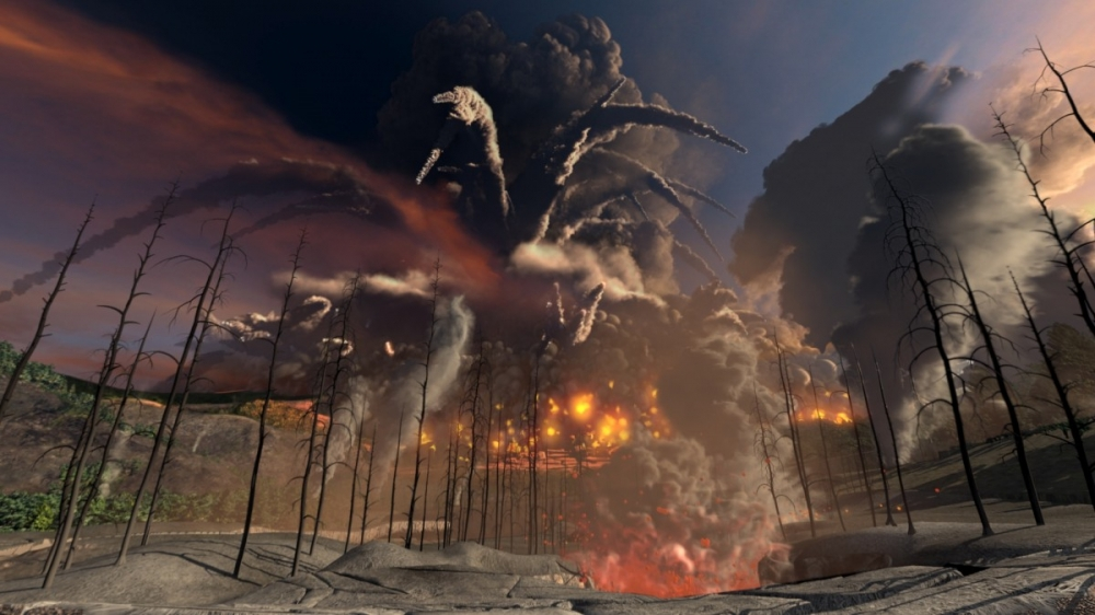How Did Humans Survive  This Supervolcano Eruption 74,000 Years Ago? Here's How