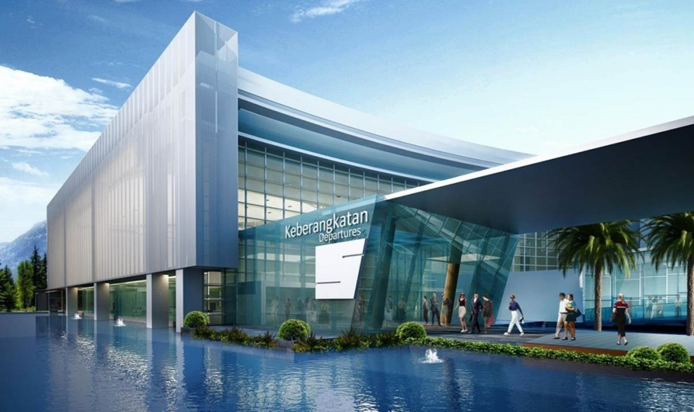 """The First """"Floating Airport"""" Sets to Land in Indonesia's 5th Largest City"""