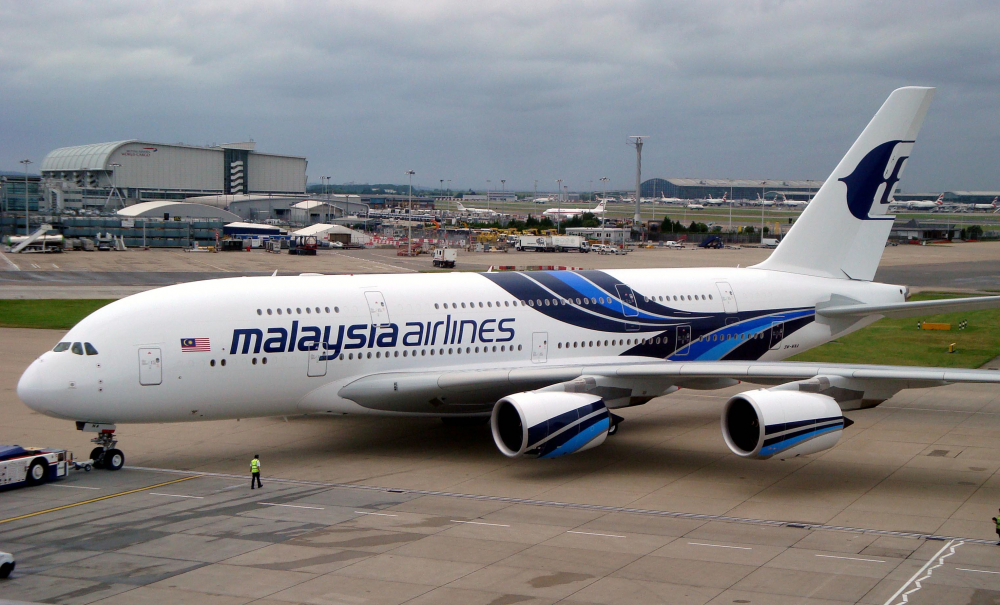 First in the World : Malaysia Airlines to track planes with satellites