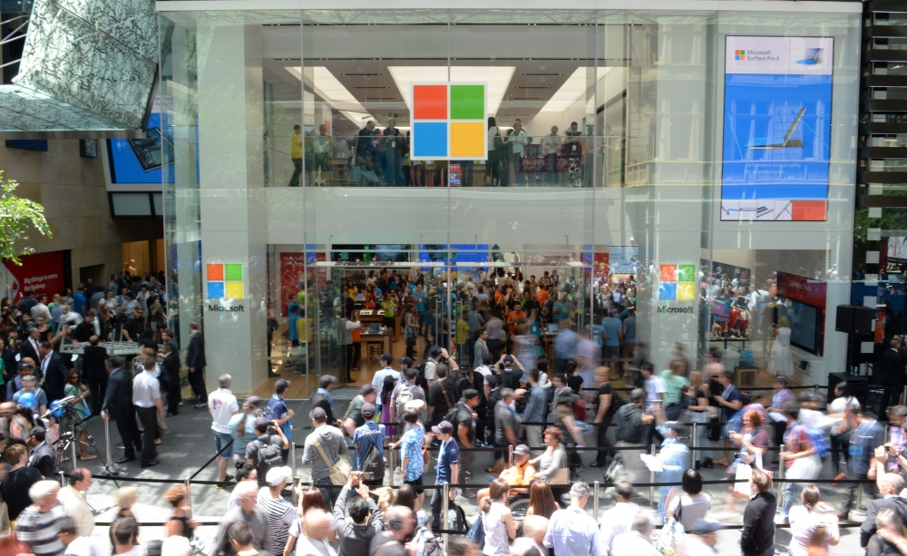 The First Southeast Asia Surface Store