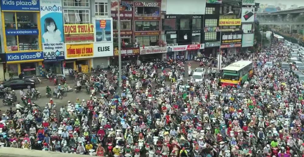 Hanoi To Ban Motorcycles Soon