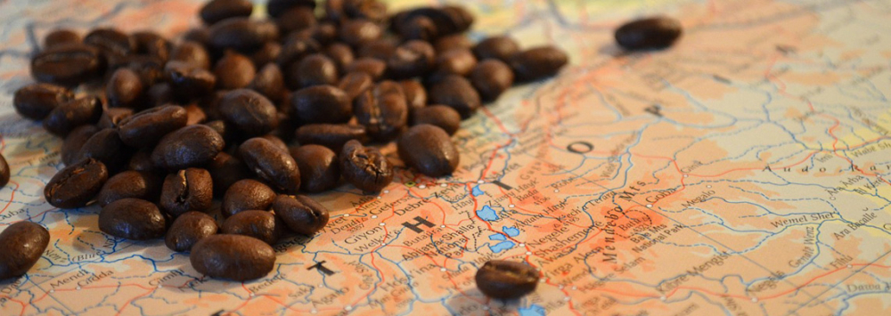 The Coffee Belt, A World Map of the Major Coffee Producers