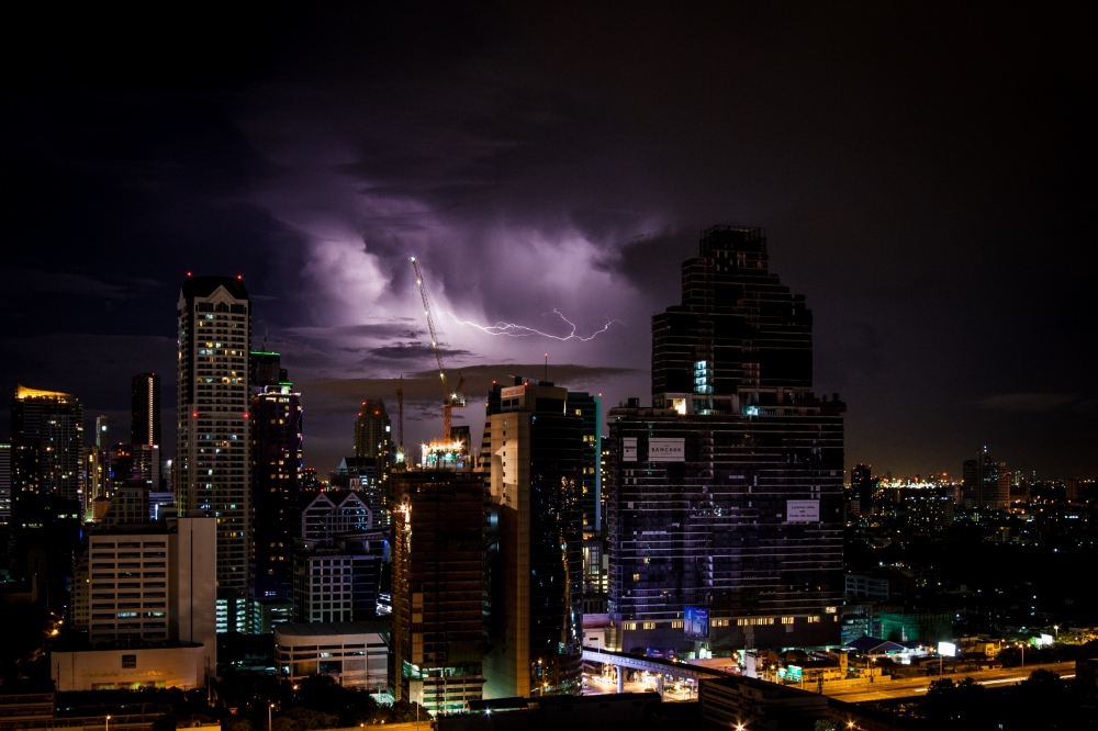 Among World's Most Lightning-Prone Cities, and A Creation Invented to Solve the Problem