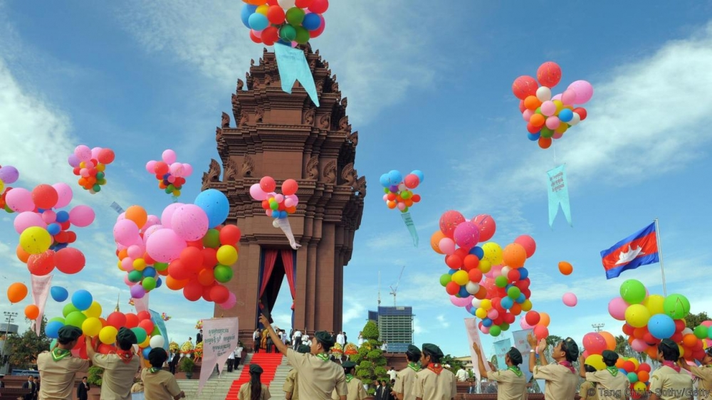 PHOTOS: Cambodia Celebrates 64 Years of National Independence