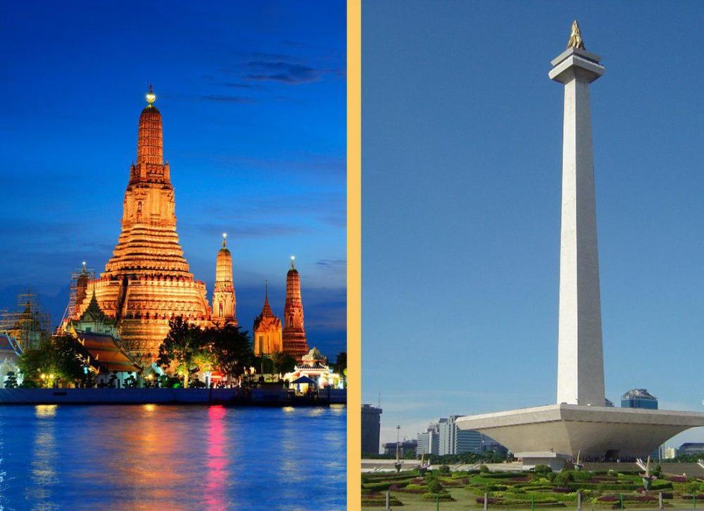 Head to Head: Thailand's Bangkok vs Indonesia's Jakarta