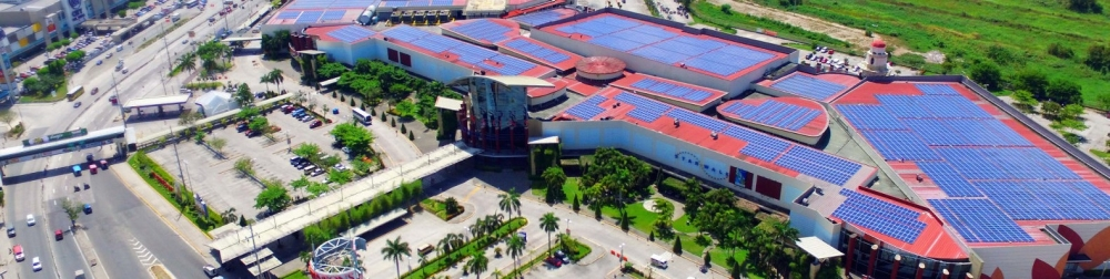 World's Largest Commercial Rooftop Solar Array On A Shopping Mall
