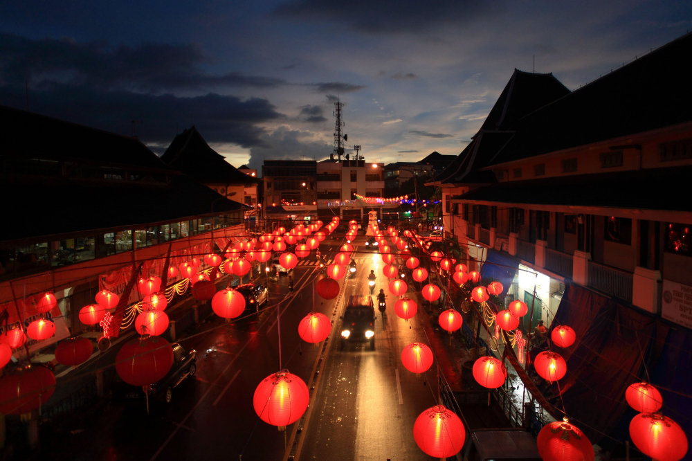 This City Lights up 5,000 Red Lanterns to Enliven Chinese New Year
