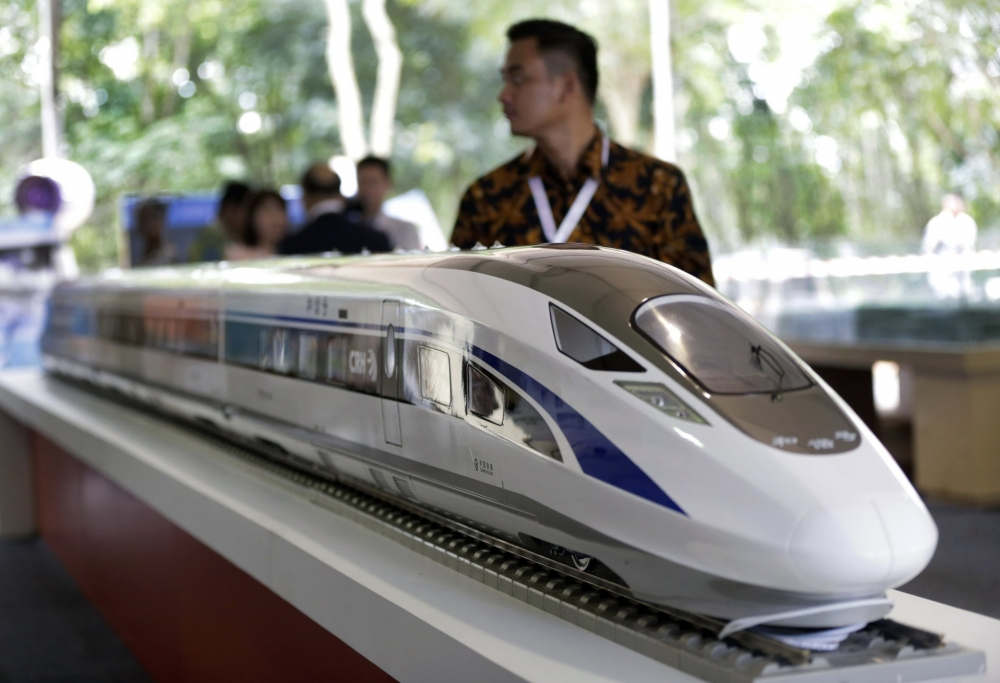 The Construction of Southeast Asia's First High-Speed Rail Line Begins