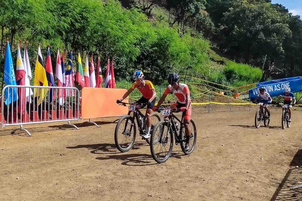 PH Cyclists Dominate Downhill Mountain Bike in SEA Games