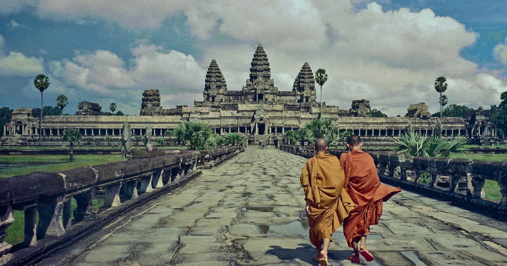 Angkor Wat Used Far More Stone Than All the Egyptian Pyramids Combined