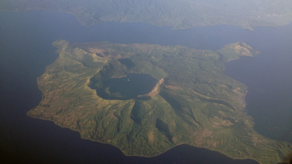 An Island Within a Lake, On an Island Within a Lake on an Island