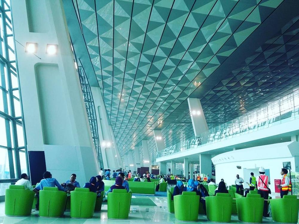 Terminal 3 Soekarno-Hatta airport | Akhyari Hananto