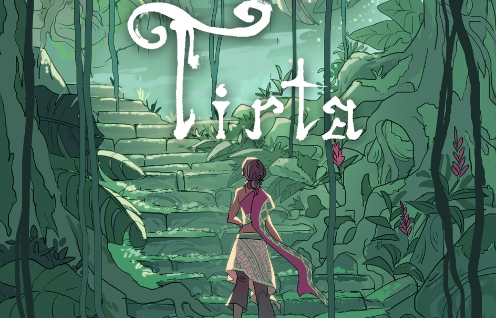 Tirta, an adventure puzzle game in collaboration with Agate and Telkom