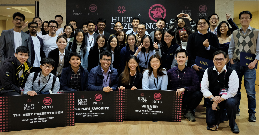 Southeast Asia Vibes in Hult Prize Competition at NCTU, Taiwan